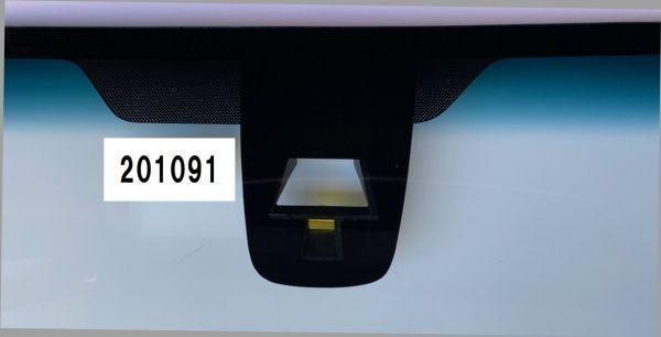 4◇新品UV&IRカット断熱フロントガラス◇スズキ ワゴンR MH34S MH44S ブレーキサポートカメラ ボカシ無 ボカシ青 201070 201091_画像6