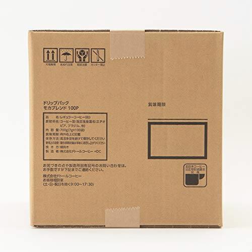 ドリップパック 100P モカブレンド ドトールコーヒー LIZ7_画像4