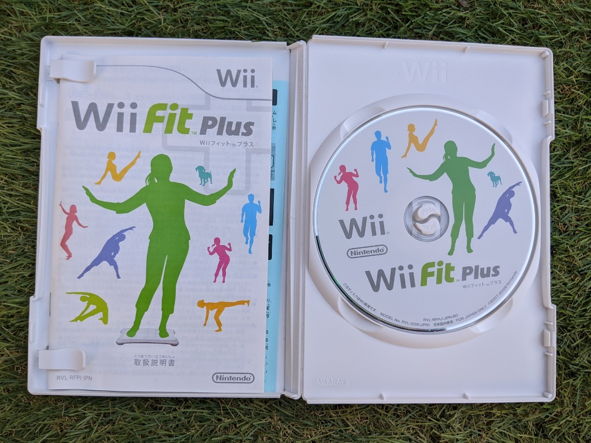 Wiiフィットプラス Wiiソフト Wii Fit Wii Fit Plus