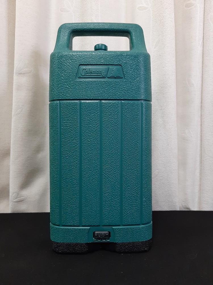 【希少】旧ロゴ コールマンランタンケース 緑(中)92年製 21032228