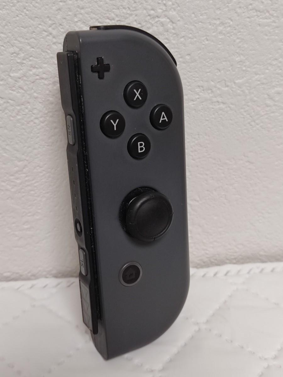 ジョイコン ニンテンドースイッチ Nintendo Switch 右グレー