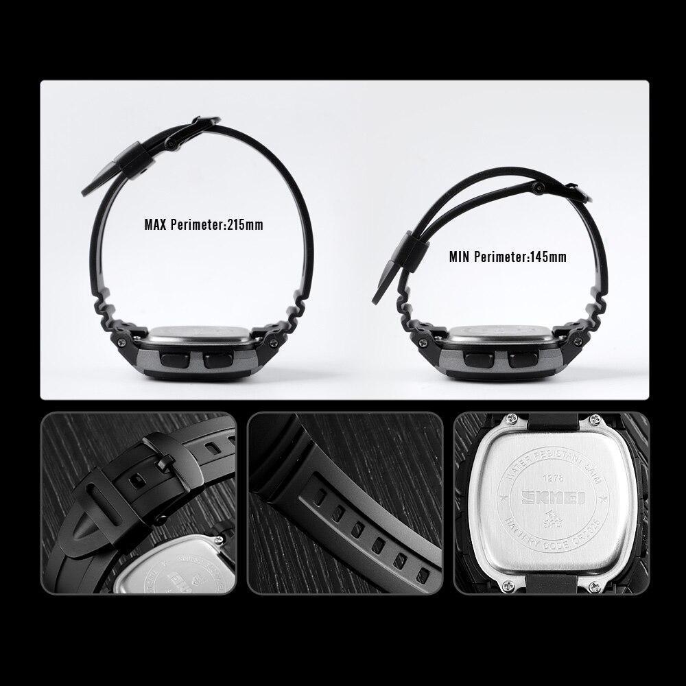 ■★メンズ腕時計 スポーツメンズ腕時計 フィットネスクロノデジタル防水腕時計 202_画像7