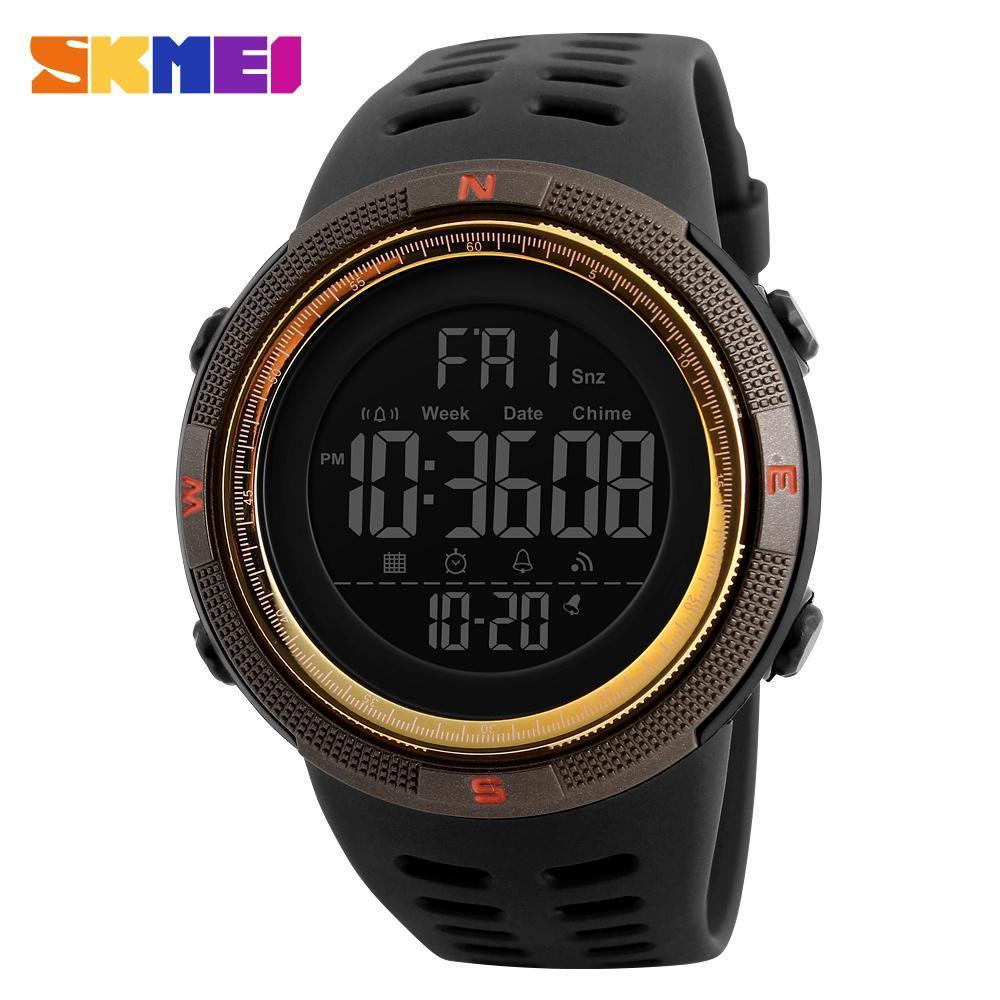 ●★メンズ腕時計 防水メンズウォッチ 新ファッションカジュアル デジタルスポーツ腕時計 多機能 210_画像4