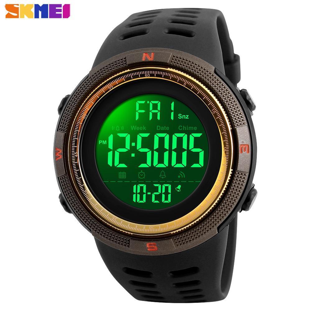 ●★メンズ腕時計 防水メンズウォッチ 新ファッションカジュアル デジタルスポーツ腕時計 多機能 210_画像5