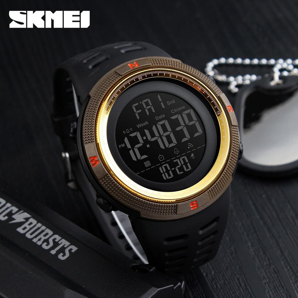 ●★メンズ腕時計 防水メンズウォッチ 新ファッションカジュアル デジタルスポーツ腕時計 多機能 210_画像7