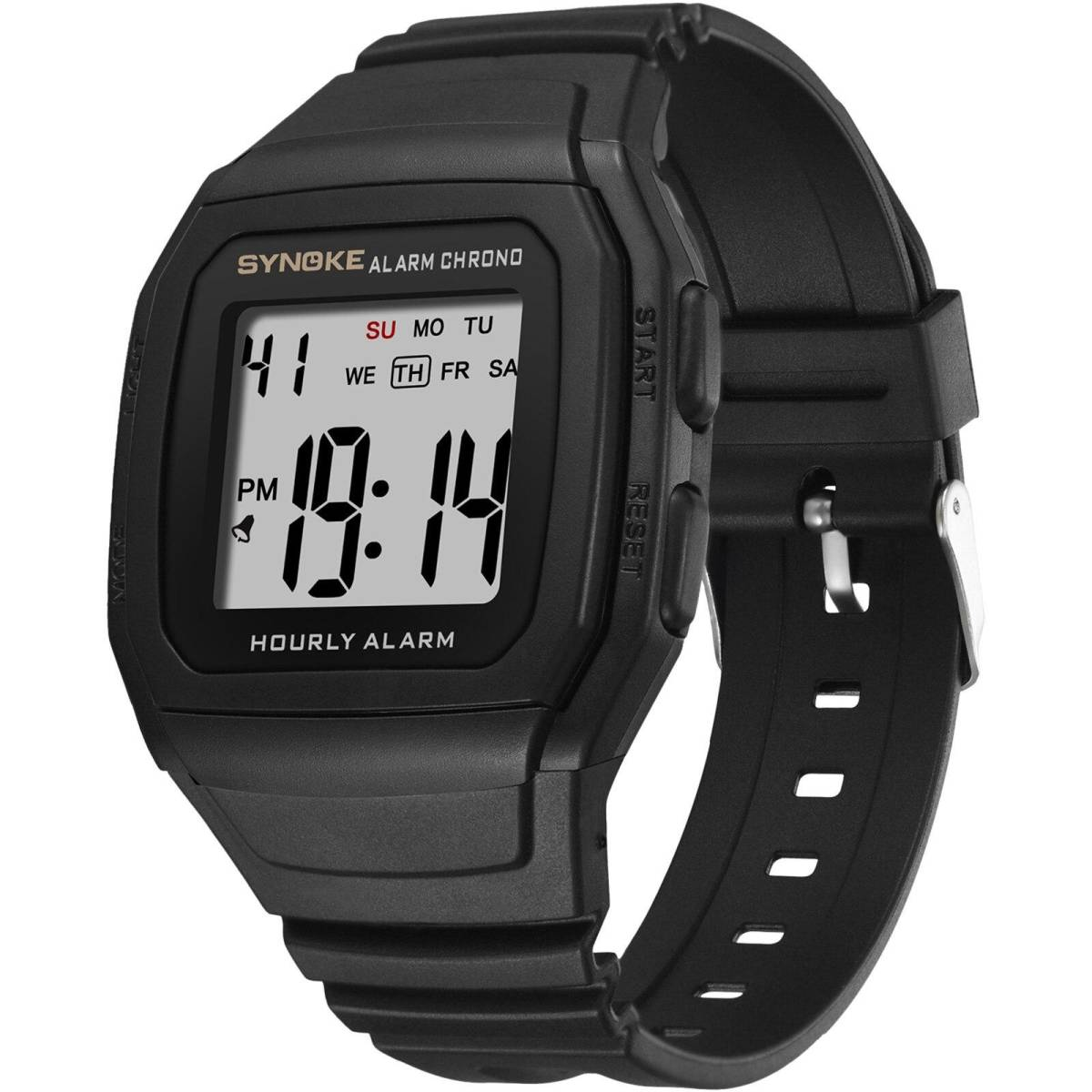 ●1円スタート ★メンズ腕時計 スポーツ腕時計 防水 ストップウォッチ機能 227_画像2