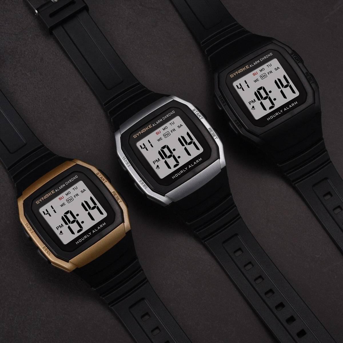 ●1円スタート ★メンズ腕時計 スポーツ腕時計 防水 ストップウォッチ機能 227_画像6