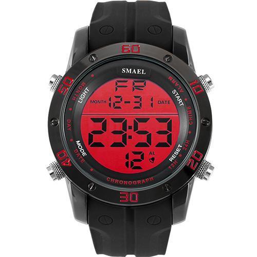 ●★メンズ腕時計 LEDデジタルメンズ腕時計 スポーツ腕時計 ファッション腕時計 162_画像2