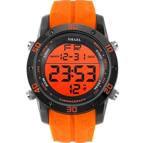 ●★メンズ腕時計 LEDデジタルメンズ腕時計 スポーツ腕時計 ファッション腕時計 162_画像1