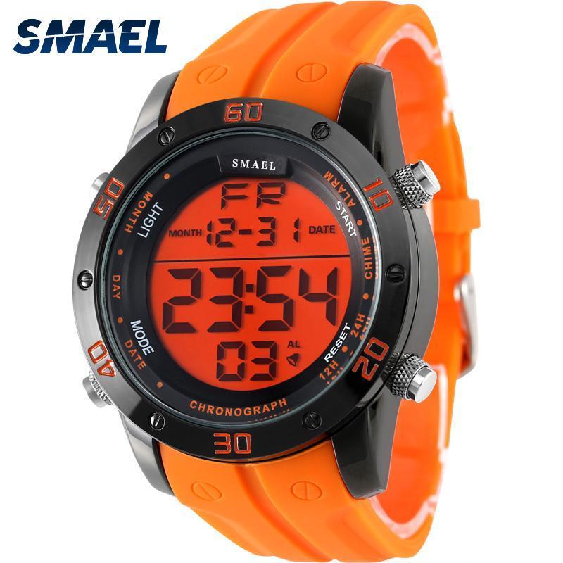 ●★メンズ腕時計 LEDデジタルメンズ腕時計 スポーツ腕時計 ファッション腕時計 162_画像4