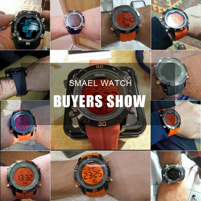 ●★メンズ腕時計 LEDデジタルメンズ腕時計 スポーツ腕時計 ファッション腕時計 162_画像6