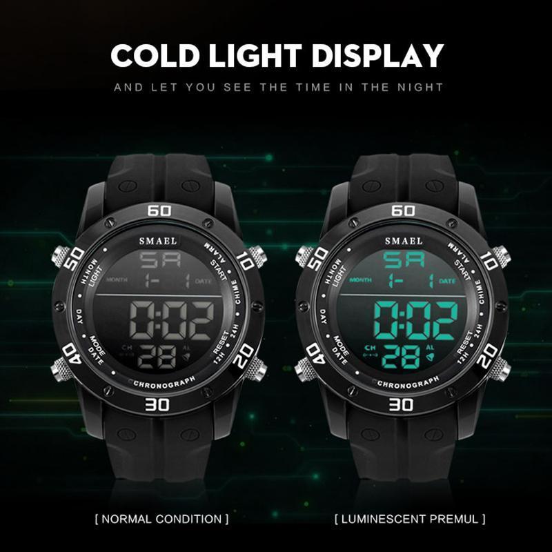 ●★メンズ腕時計 LEDデジタルメンズ腕時計 スポーツ腕時計 ファッション腕時計 162_画像5
