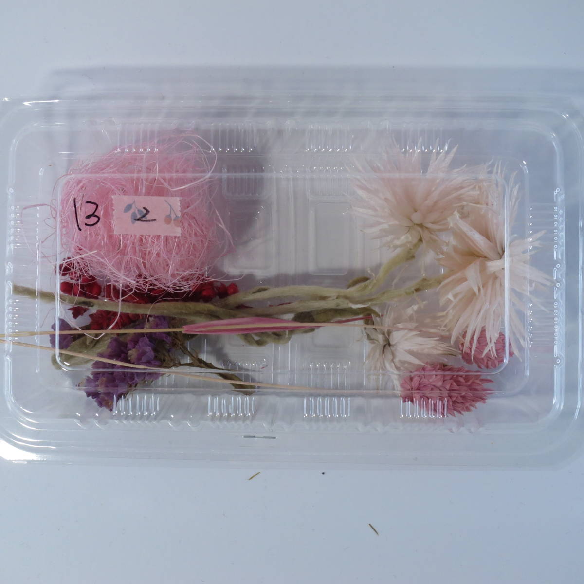 A-13-2★ハーバリウムやハンドクラフトに!花材セット〔UVレジン 封入 花 ドライ〕★_これをそのままお送りします