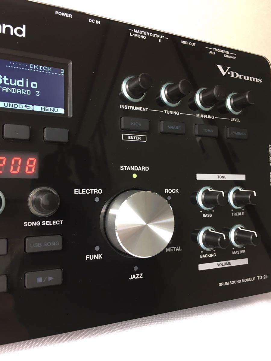 ローランド電子ドラムTD-25音源モジュール_画像6
