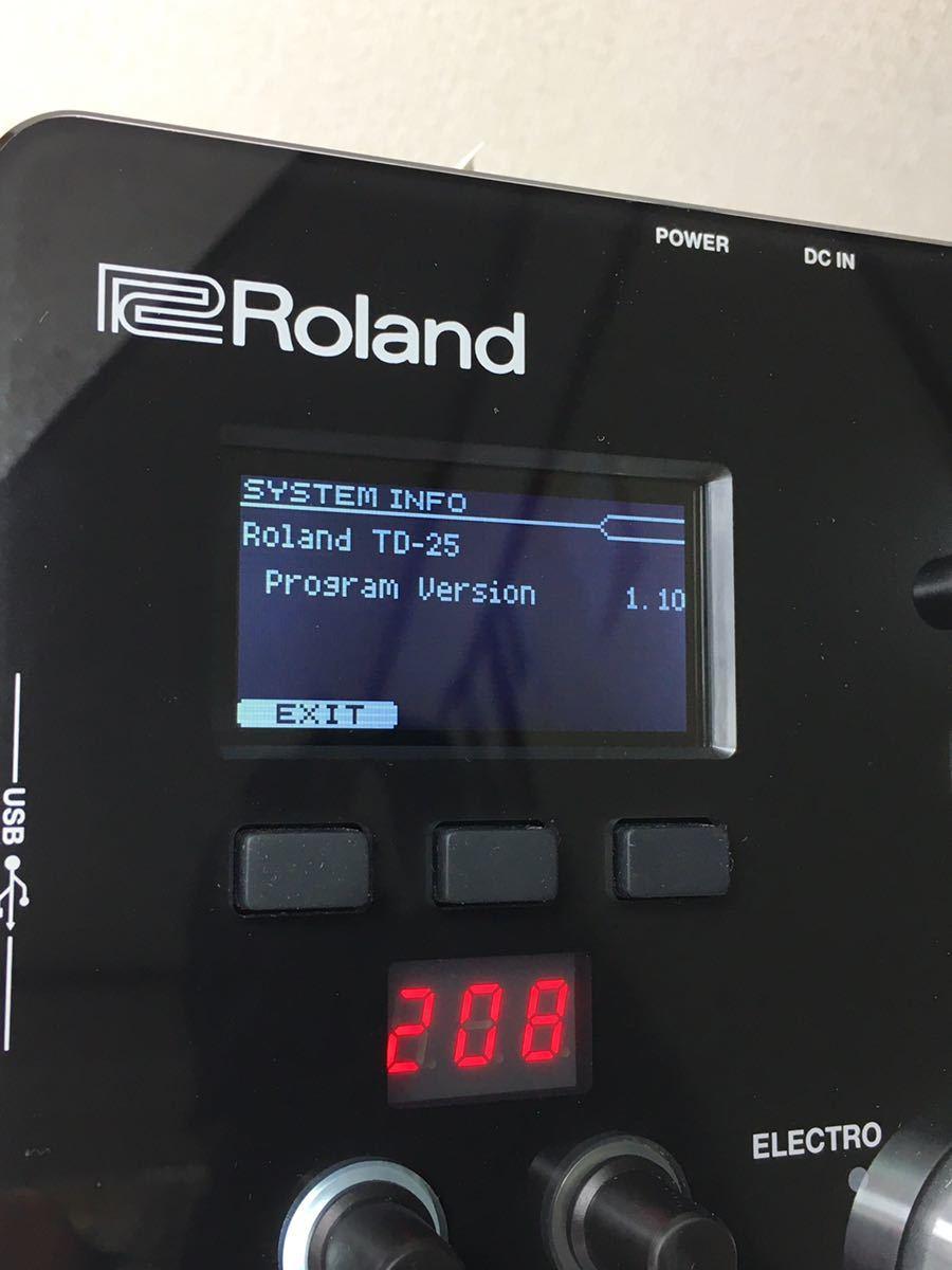 ローランド電子ドラムTD-25音源モジュール_画像9
