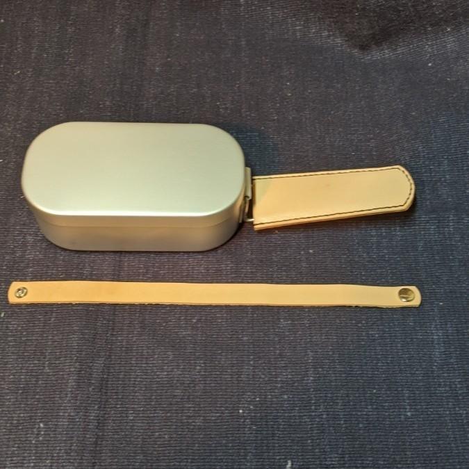 ダイソーメスティン用レザーハンドルカバー
