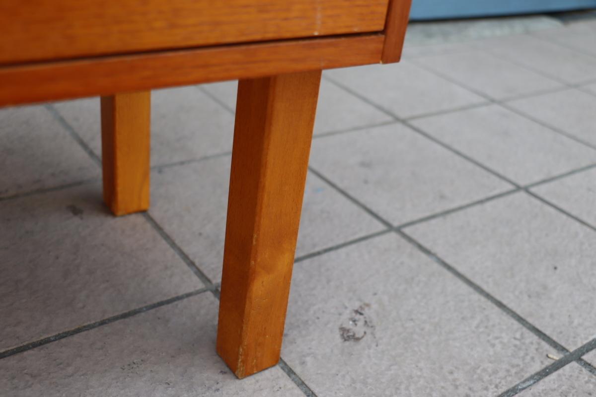 デンマーク◆チーク材◆2段チェスト◆ナイトテーブル◆ベッドサイドチェスト◆ヴィンテージ家具◆北欧家具◆ナチュラル◆シンプル◆BC601_画像7