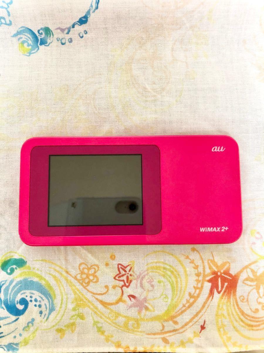 Wi-Fiルーター WiMAX 【au版】Speed Wi-Fi NEXT W01 HWD31MPA Berry