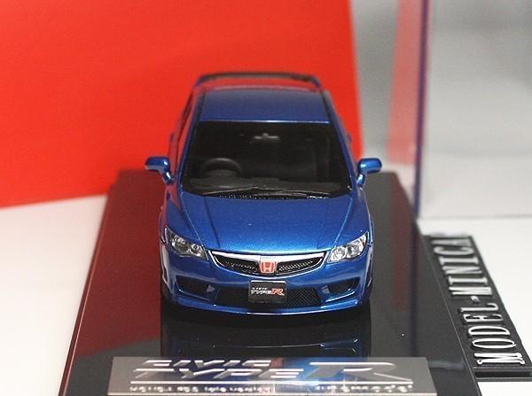 ▲超絶版!限定品!Onemodel 1/43 ホンダ Honda Civic シビックType R タイプ R 無限 FD2 Mugen 青 新品_画像2