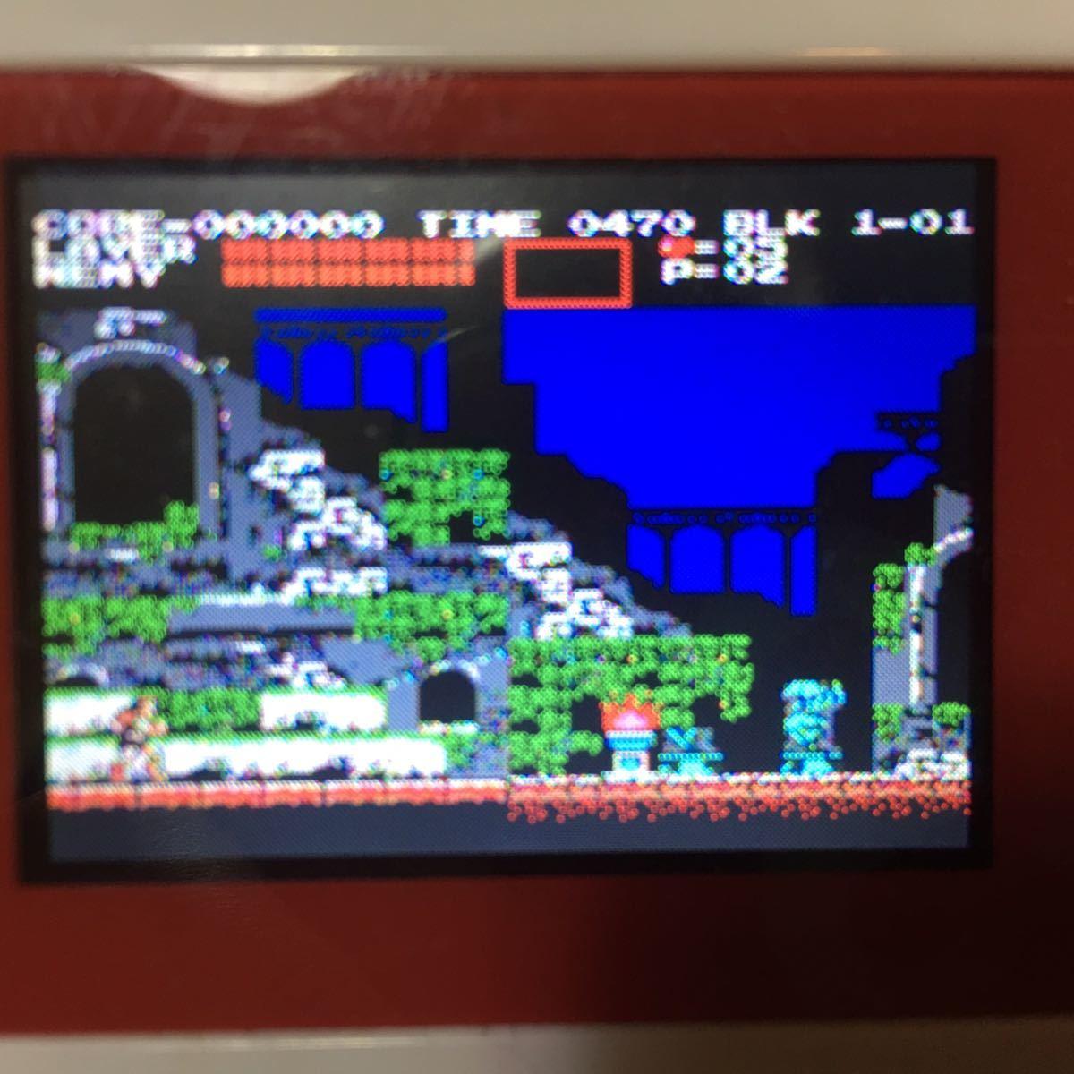 動作確認済み 激レア 美品 FC コナミ 悪魔城伝説 ROM版 箱説付 KONAMI ファミコンソフト