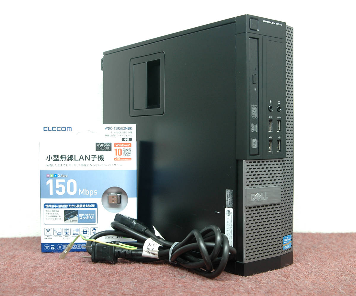 Win10□■Core i7-3770/新品SSD1TB+HDD2TB/大容量24GBメモリ!DELL OPTIPLEX 9010 SFF / MS Office2019 / Wi-Fi / USB3.0_画像1