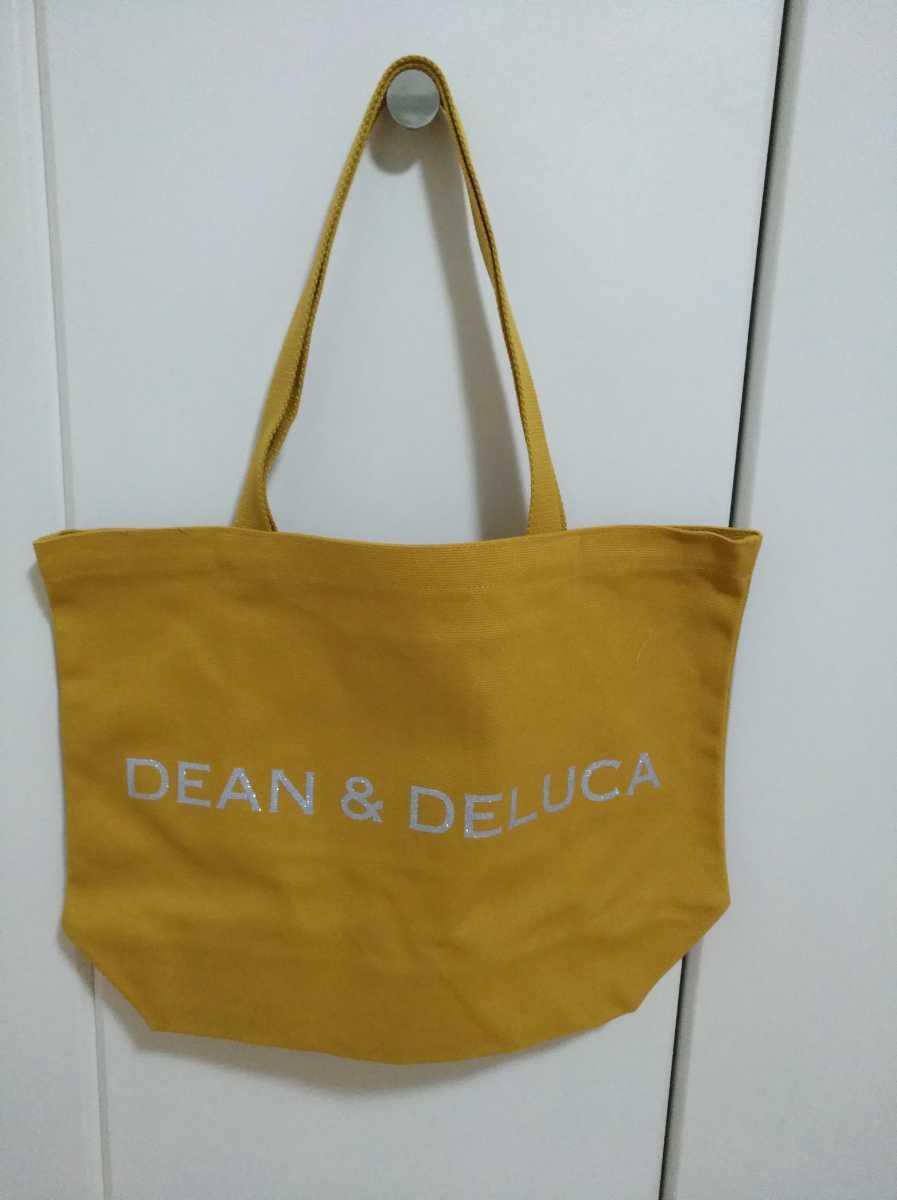 ディーン&デルーカ DEAN&DELUCA チャリティートート 2020 キャラメルイエロー Lサイズ トートバッグ エコバッグ A4サイズ_画像4