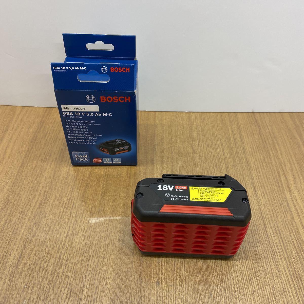 ボッシュ 18V リチウムイオンバッテリー 18V 5.0Ah BOSCH 新品_画像1