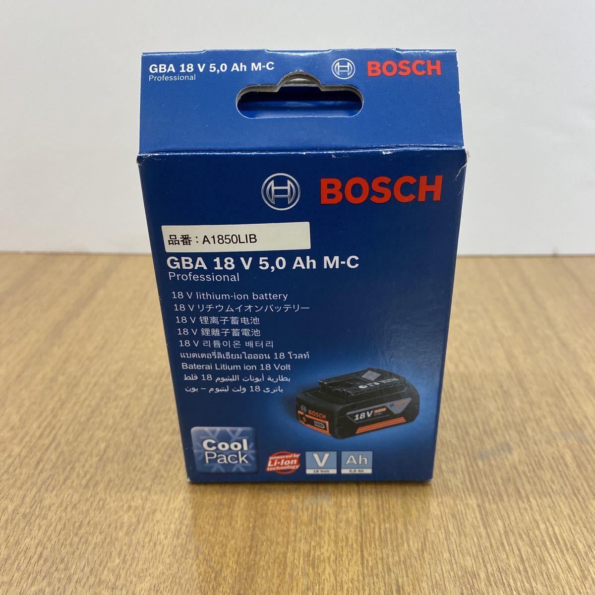 ボッシュ 18V リチウムイオンバッテリー 18V 5.0Ah BOSCH 新品_画像4