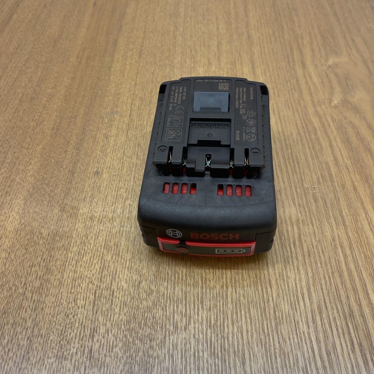 ボッシュ 18V リチウムイオンバッテリー 18V 5.0Ah BOSCH 新品_画像3