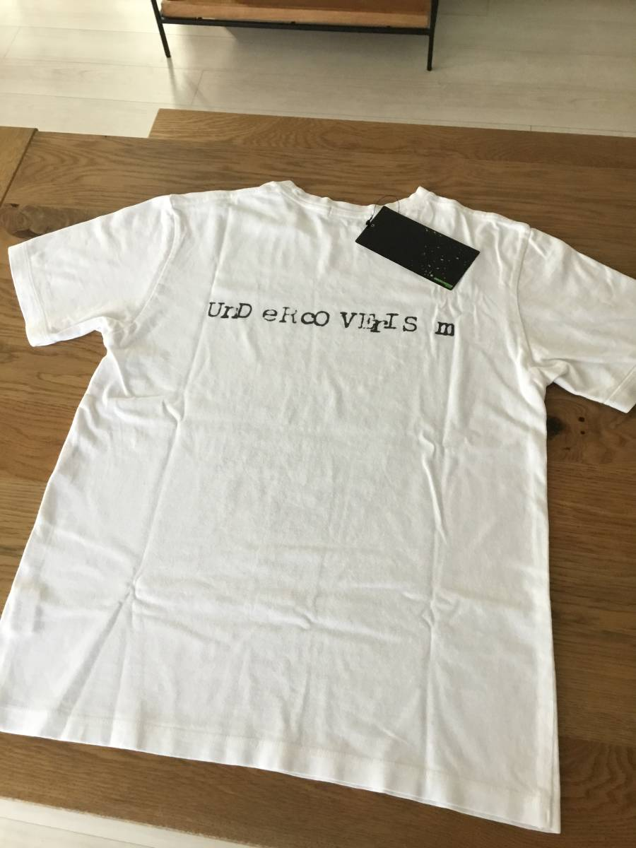 奇跡の名作 アンダーカバー paper doll 期 DANGEROUS ELEMENTS Tシャツ UNDER COVER tgraphics シャツ 68デニム ハギ ギャルソン 好きの方_画像4