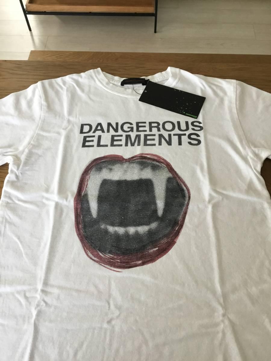 奇跡の名作 アンダーカバー paper doll 期 DANGEROUS ELEMENTS Tシャツ UNDER COVER tgraphics シャツ 68デニム ハギ ギャルソン 好きの方_画像6
