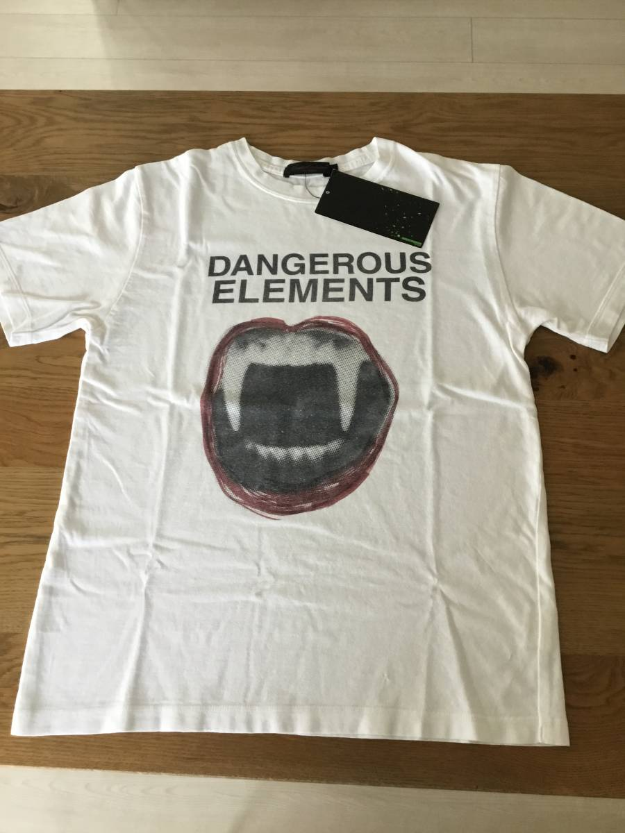 奇跡の名作 アンダーカバー paper doll 期 DANGEROUS ELEMENTS Tシャツ UNDER COVER tgraphics シャツ 68デニム ハギ ギャルソン 好きの方_画像8