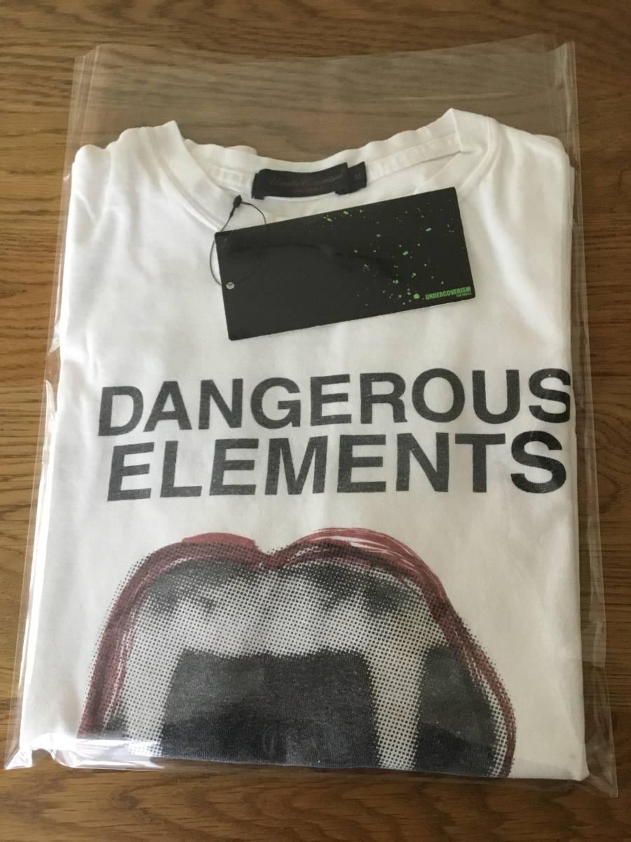 奇跡の名作 アンダーカバー paper doll 期 DANGEROUS ELEMENTS Tシャツ UNDER COVER tgraphics シャツ 68デニム ハギ ギャルソン 好きの方_画像9