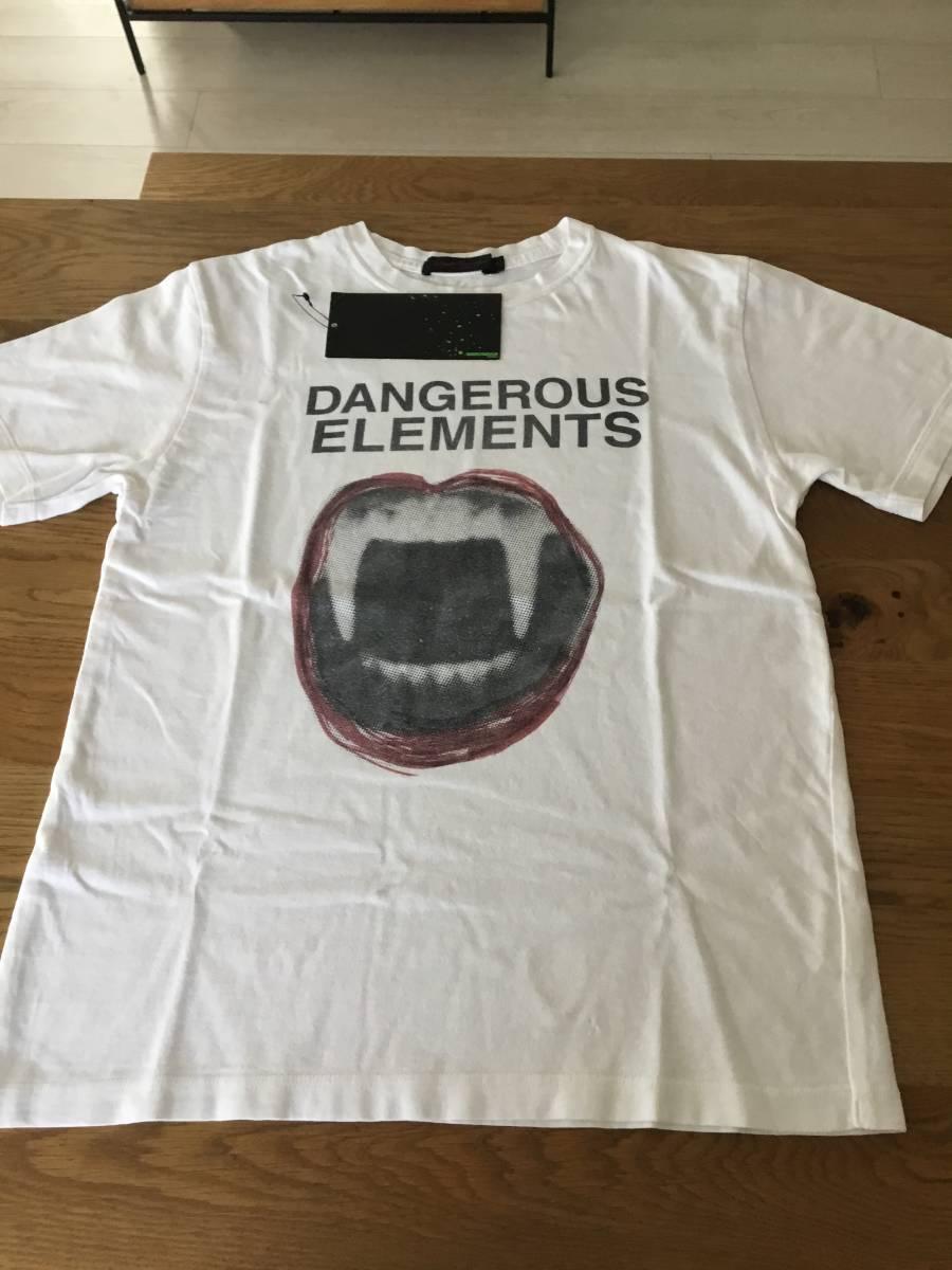 奇跡の名作 アンダーカバー paper doll 期 DANGEROUS ELEMENTS Tシャツ UNDER COVER tgraphics シャツ 68デニム ハギ ギャルソン 好きの方_画像1