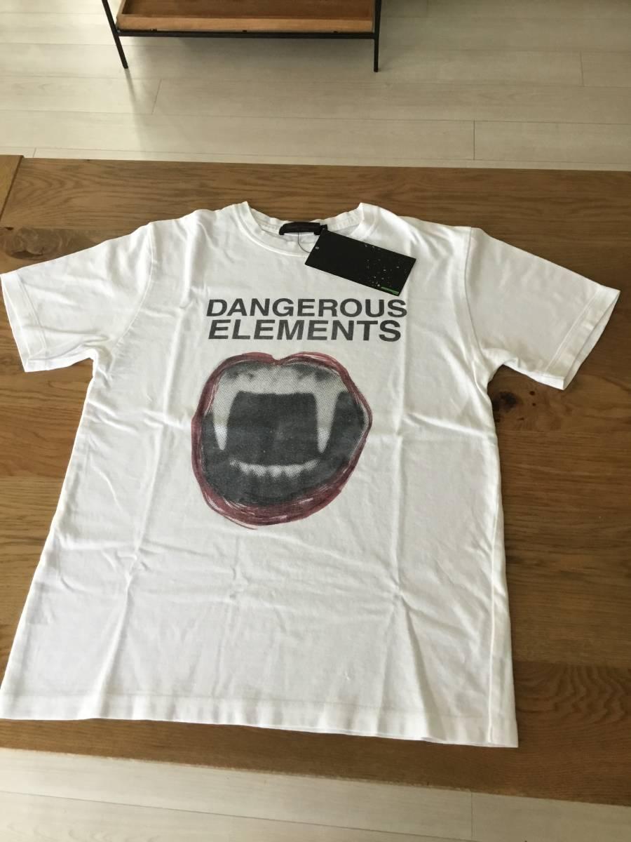 奇跡の名作 アンダーカバー paper doll 期 DANGEROUS ELEMENTS Tシャツ UNDER COVER tgraphics シャツ 68デニム ハギ ギャルソン 好きの方_画像2