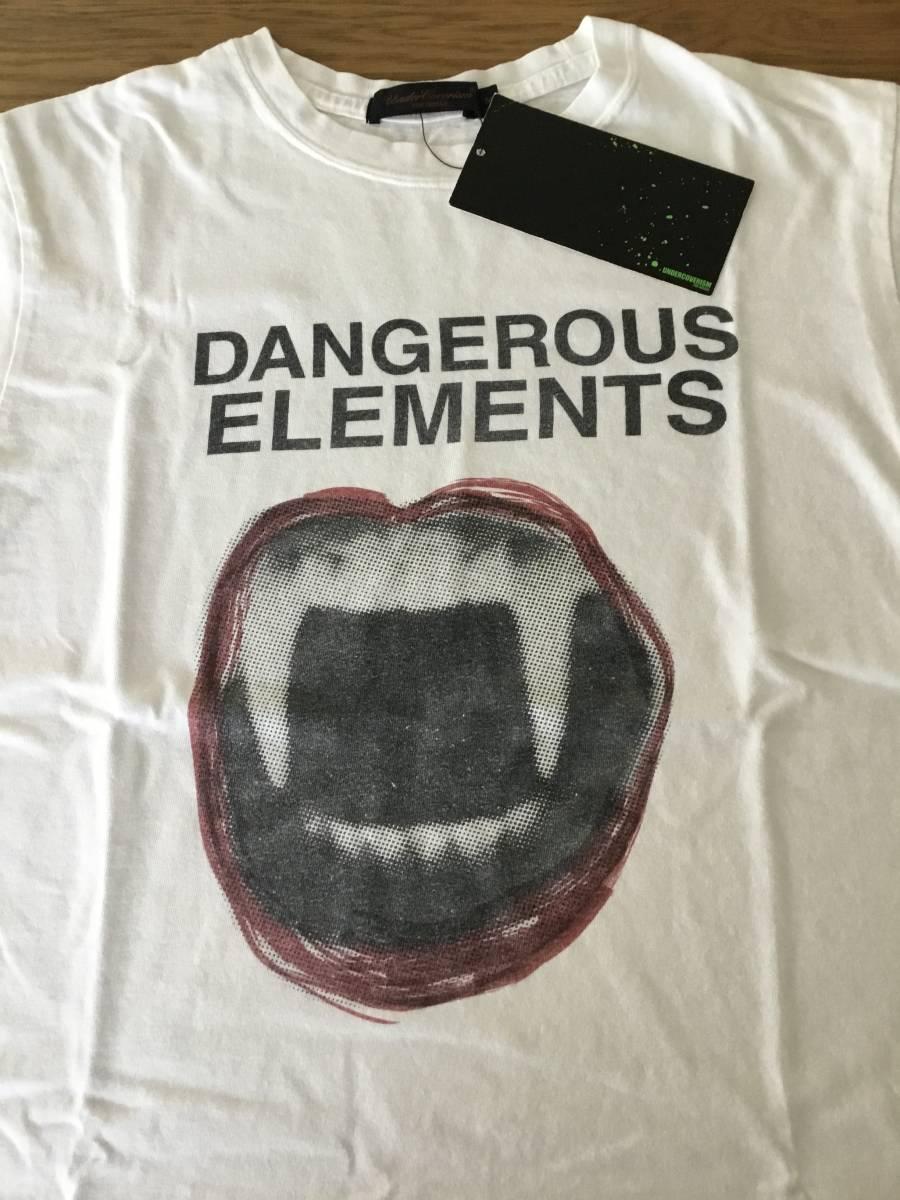 奇跡の名作 アンダーカバー paper doll 期 DANGEROUS ELEMENTS Tシャツ UNDER COVER tgraphics シャツ 68デニム ハギ ギャルソン 好きの方_画像7