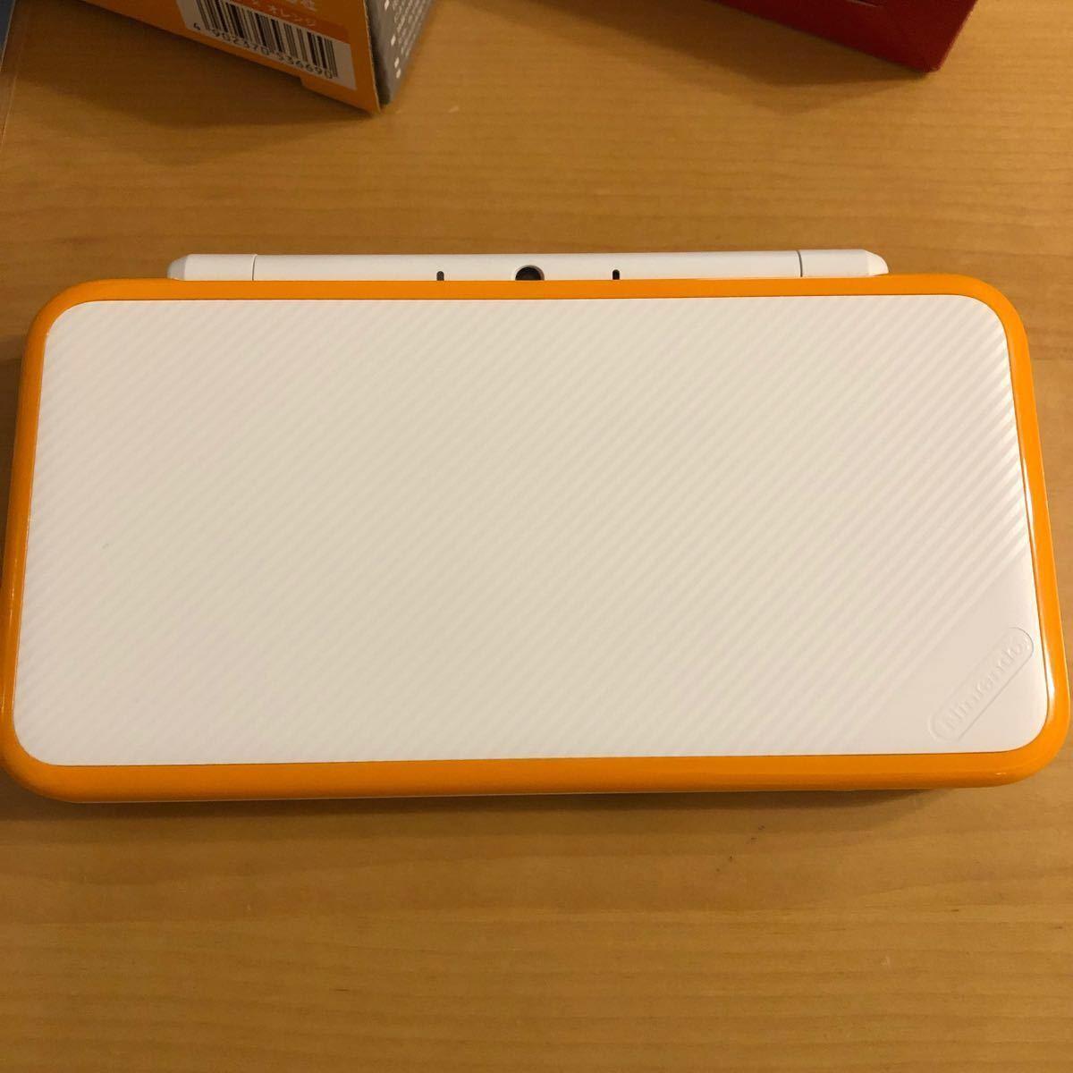 任天堂 New Nintendo 2DS LL ニンテンドー2DS 本体 ホワイト×オレンジ