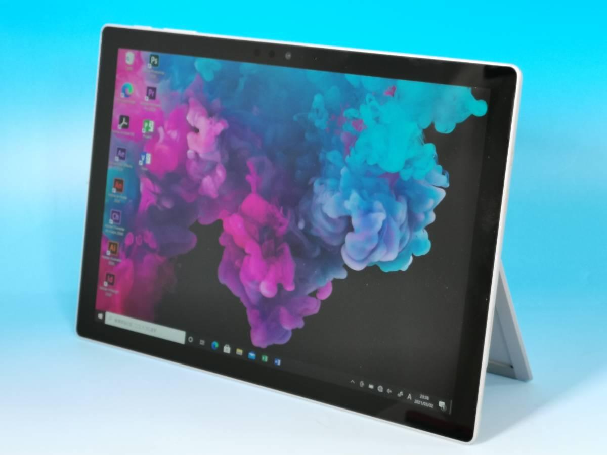 Microsoft Surface Pro (2017) タブレットPC Intel Core i5-7300U 2.60GHz 8GB 256GB(SSD/NVMe) 12.3型 Windows10 Pro MSOffice2019