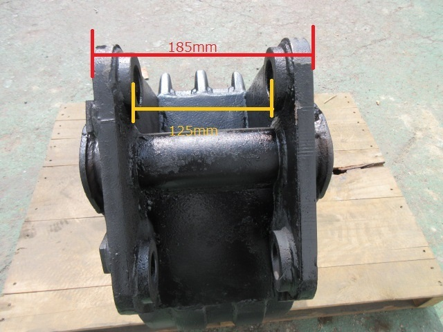FT70 重機 用 狭幅バケット ピン径35mm 幅250mm ユンボ 建設機械 バケット_画像8