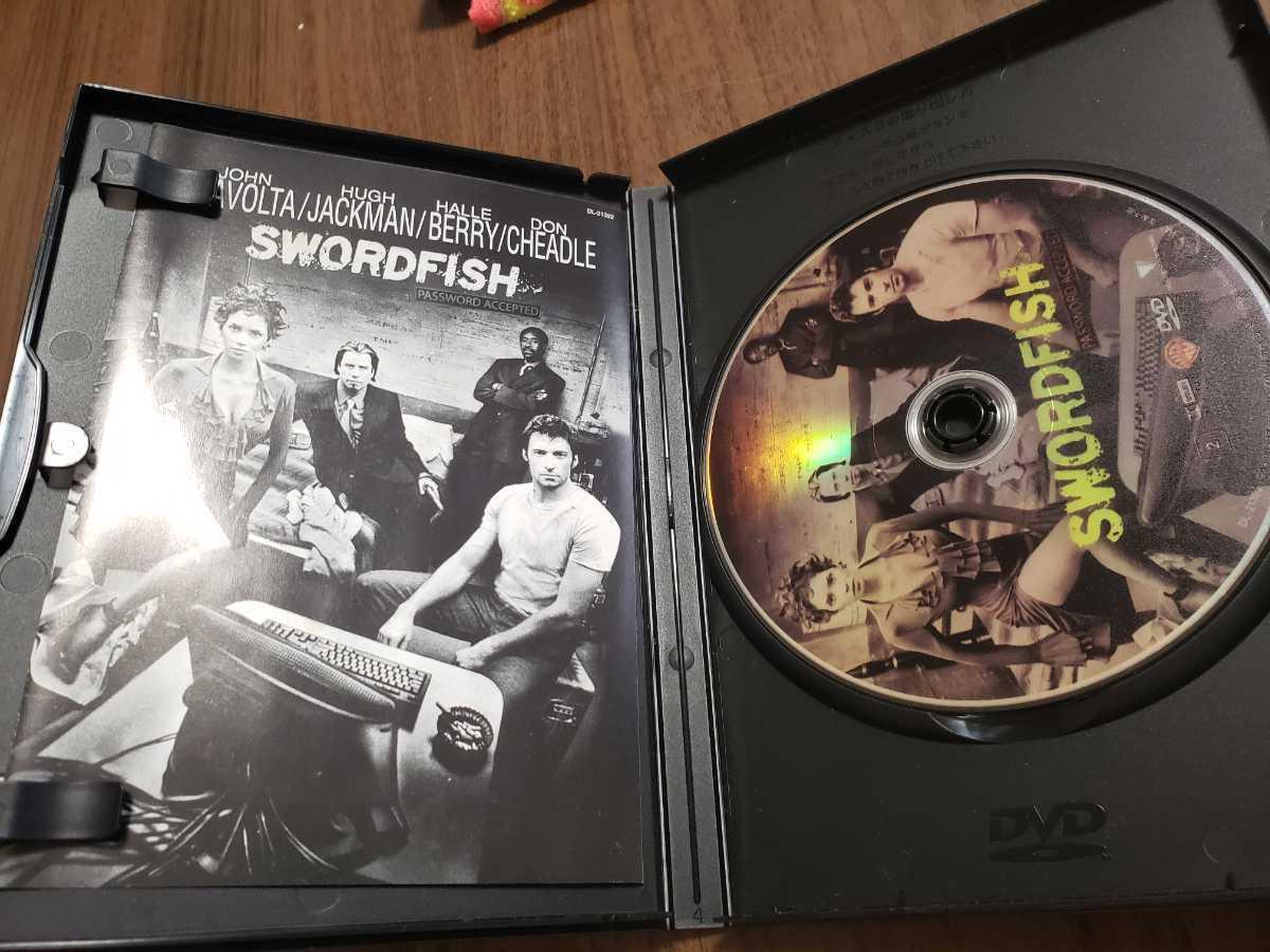 DVD ソードフィッシュ ジョン・トラボルタ/ ヒュー・ジャックマン/ ハル・ベリー_画像2