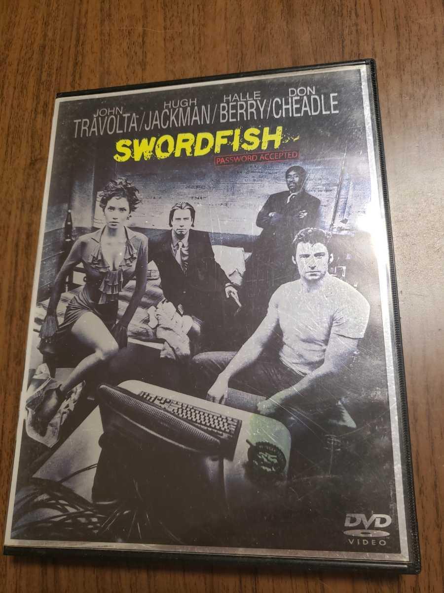 DVD ソードフィッシュ ジョン・トラボルタ/ ヒュー・ジャックマン/ ハル・ベリー_画像1