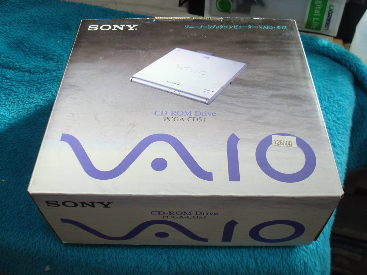 SONY純正CD-ROMドライブ PCGA-CD51 送料無料