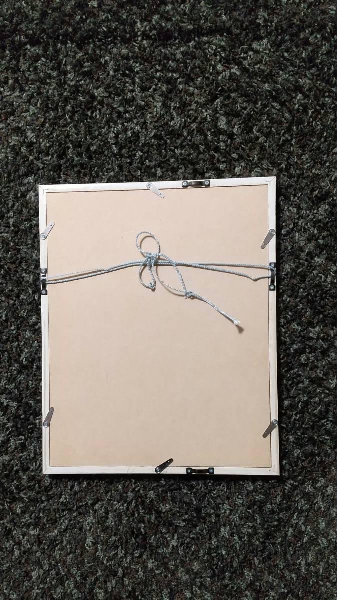 安藤真司 『 森の花 '95-3 』 銅版画 直筆サイン 1995年 50部 額装 【真作保証】_画像7