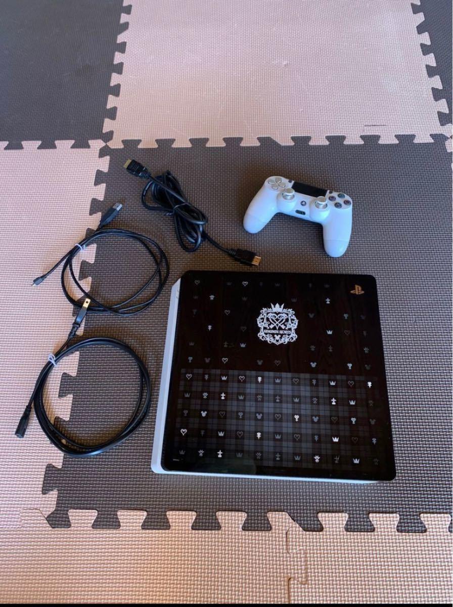 PS4本体 2TB キングダムハーツカバー