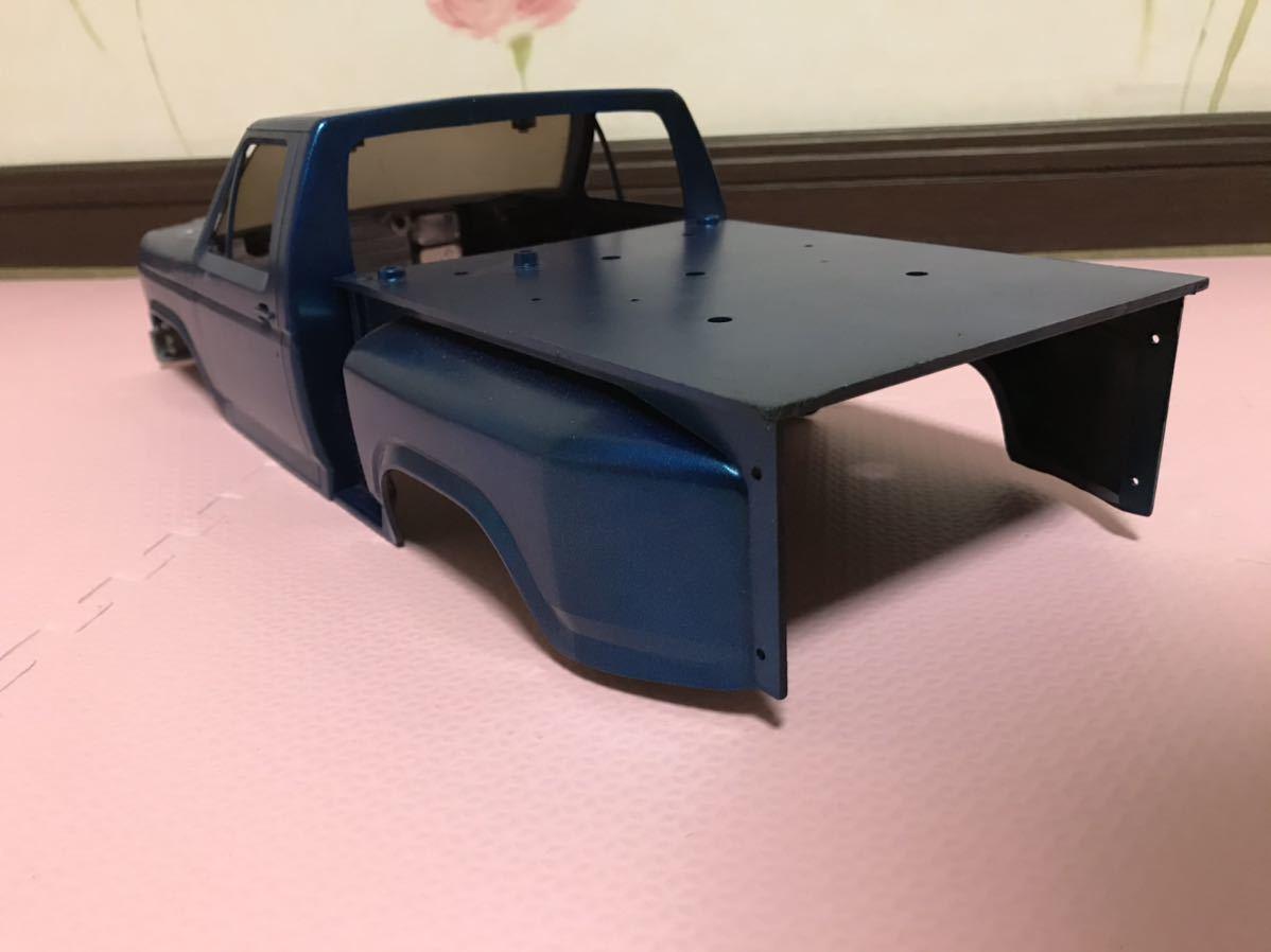 送料無料 タミヤ ブラックフット ピックアップトラック ラジコン ボディ プラスチック ジャンク TAMIYA PICKUP TRUCK_画像2