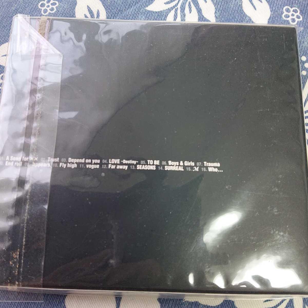 浜崎あゆみ A BEST 初回限定盤 新品未開封 送料無料_画像3