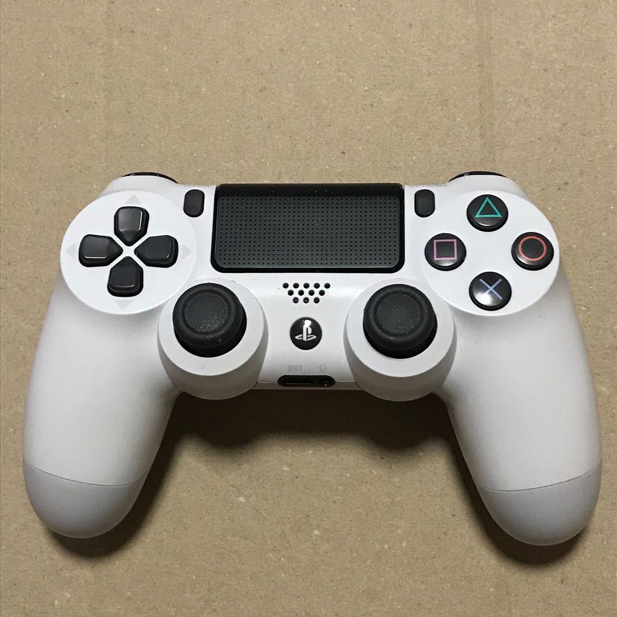 SONY PS4 デュアルショック4 ホワイト