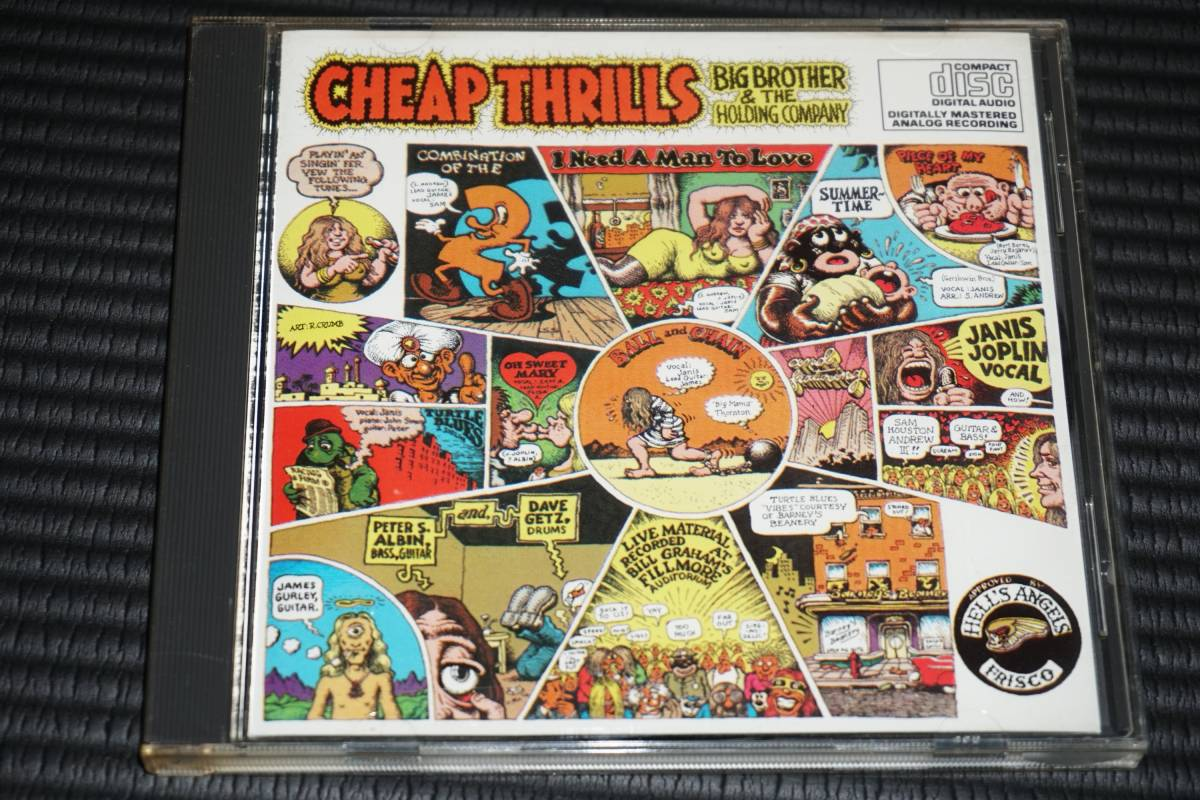 ◆Big Brother And The Holding Company◆ Cheap Thrills Janis Joplin ジャニス・ジョプリン 輸入盤 CD