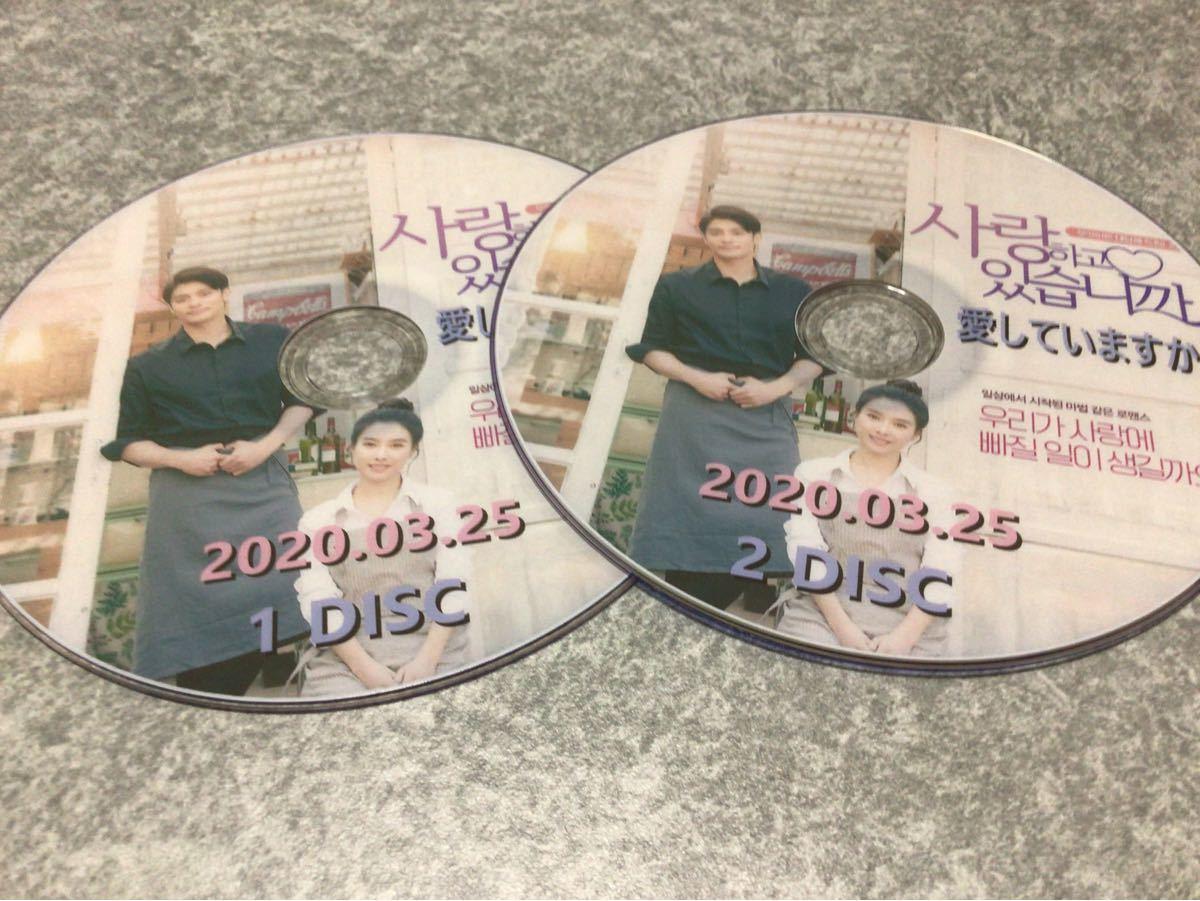韓国映画 愛していますか? DVD