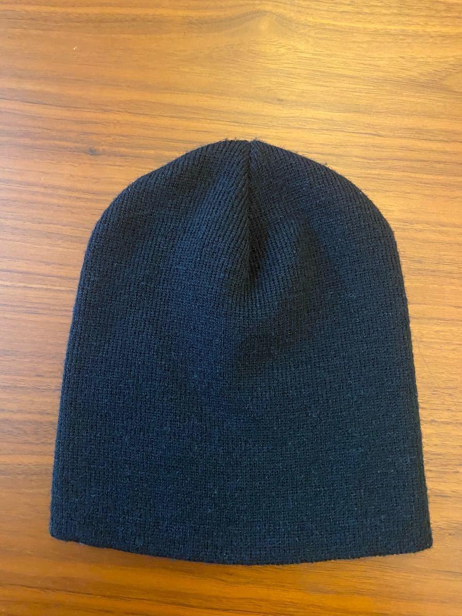 ニット帽 ニットキャップ ビーニー メンズ レディース ブラック